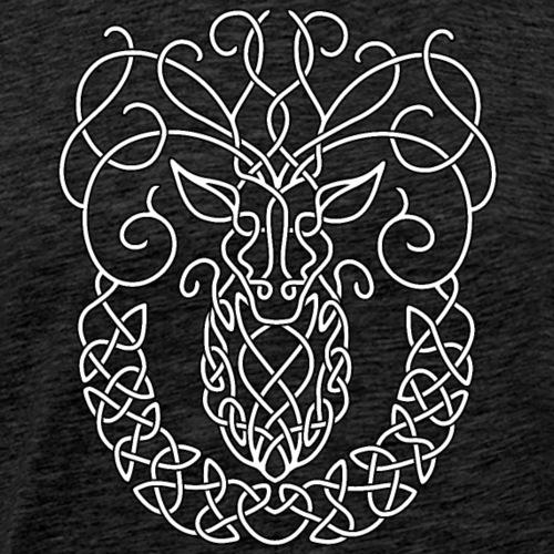 Celtic Stag - Men's Premium T-Shirt
