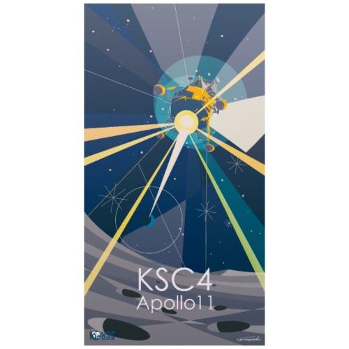 T-shirt KSC4 - Apollo11 (by Go Miyazaki)