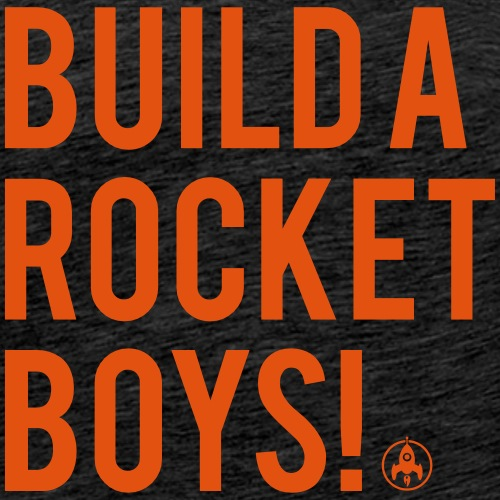 Build a rocket boys - Mannen Premium T-shirt
