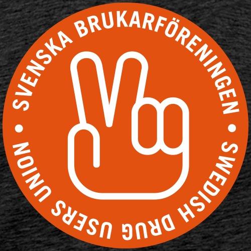 Herr T-shirt - Svenska Brukarföreningens logga - Premium-T-shirt herr