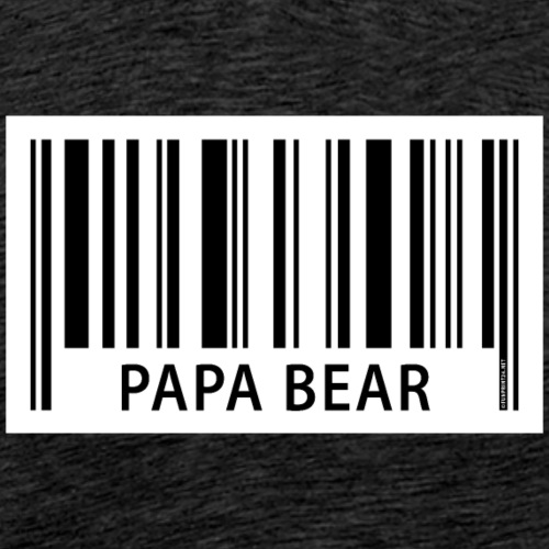 FP42 EAN Papa Bear - Miesten premium t-paita