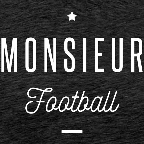 monsieur football - T-shirt Premium Homme