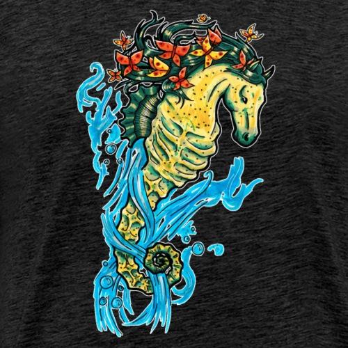 Hippocampes 4 éléments hippocampes - T-shirt Premium Homme