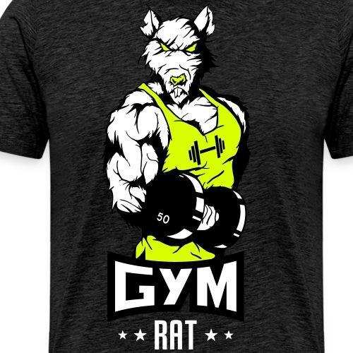 GYM RAT - Männer Premium T-Shirt