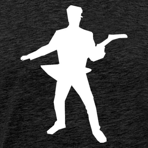 Explorer Logo white - Männer Premium T-Shirt