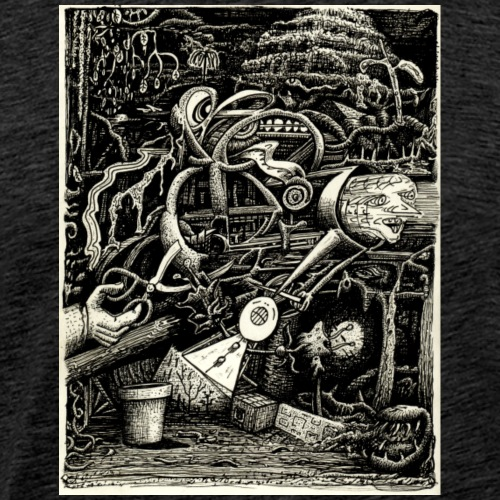 Garden of madness - Men's Premium T-Shirt