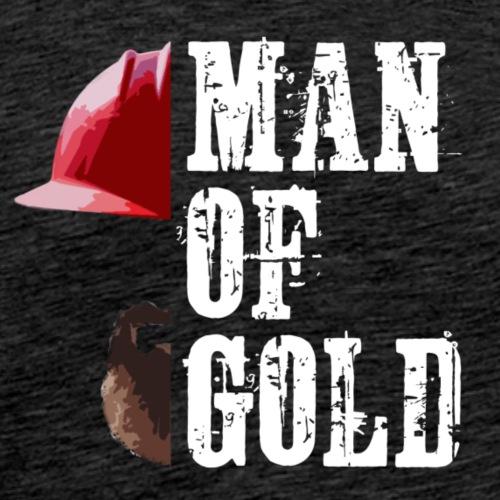 Man of Gold - Männer Premium T-Shirt