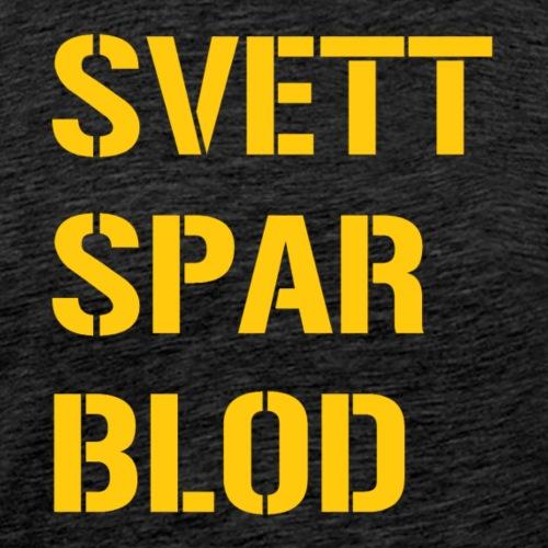 SVETT SPAR BLOD - Premium-T-shirt herr