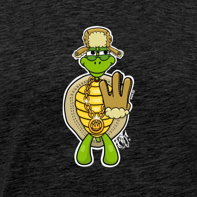 Winter West Coast Schildkröte / Hip-Hop Turtle