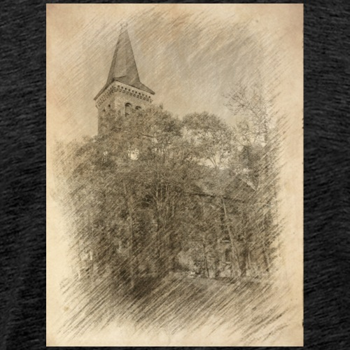 Baalberger Kirche - Männer Premium T-Shirt