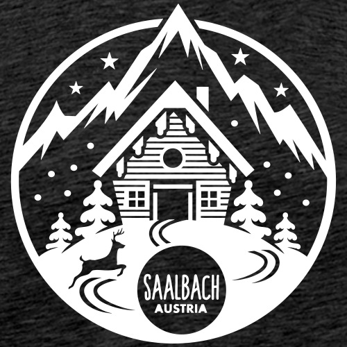Saalbach - Männer Premium T-Shirt