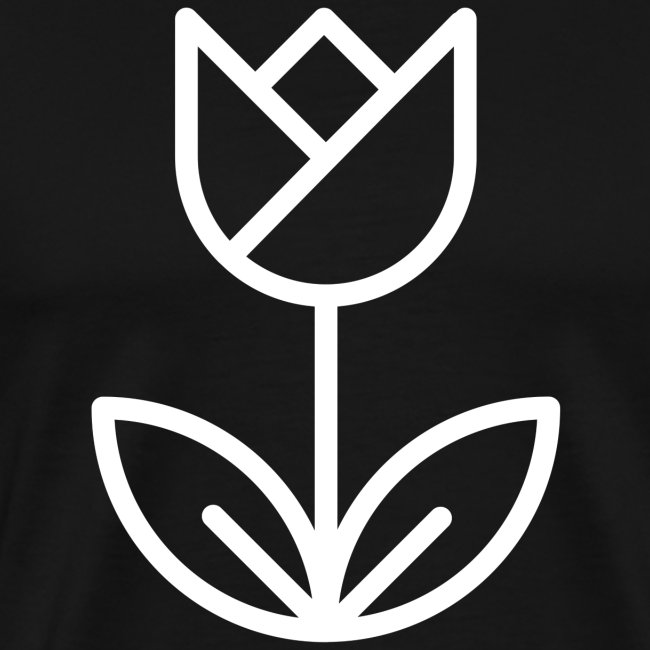 Tulip white png
