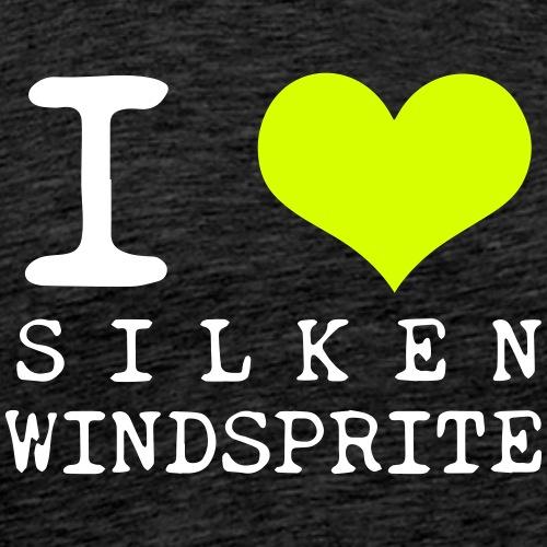 i love windsprite weiss - Männer Premium T-Shirt