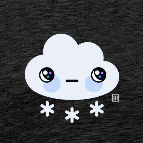 Snowy weather - Men's Premium T-Shirt