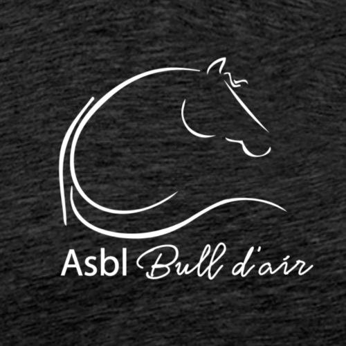 logo bull d air blanc - T-shirt Premium Homme