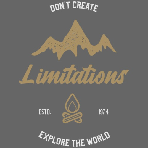 Limitations - Männer Premium T-Shirt