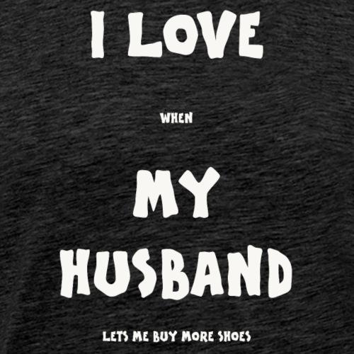 I LOVE SHOES - Men's Premium T-Shirt
