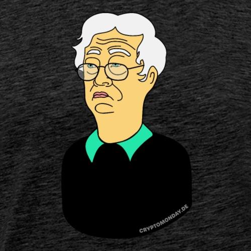Satoshi Nakamoto - Männer Premium T-Shirt