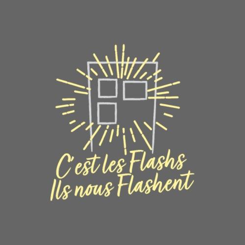 C'est les flashs ils nous flashent ! - T-shirt Premium Homme