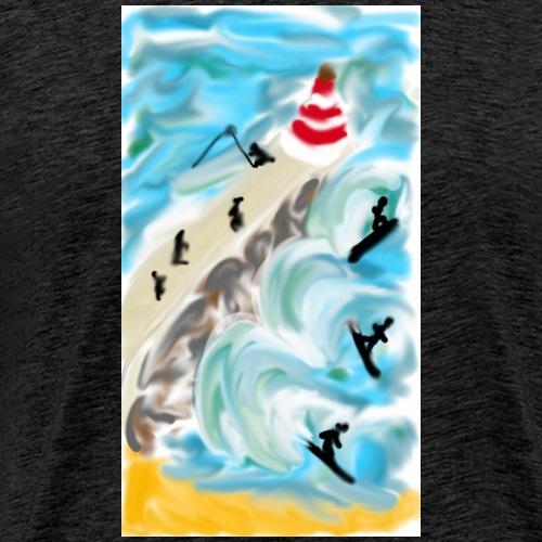 sketch-1509027955287 - Men's Premium T-Shirt