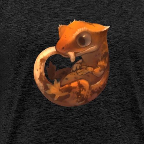 Gecko à Crète Mignon - T-shirt Premium Homme
