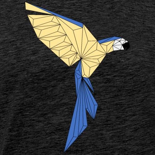 Papagei geometrisch - Männer Premium T-Shirt