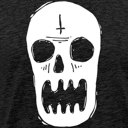 tete de mort - T-shirt Premium Homme