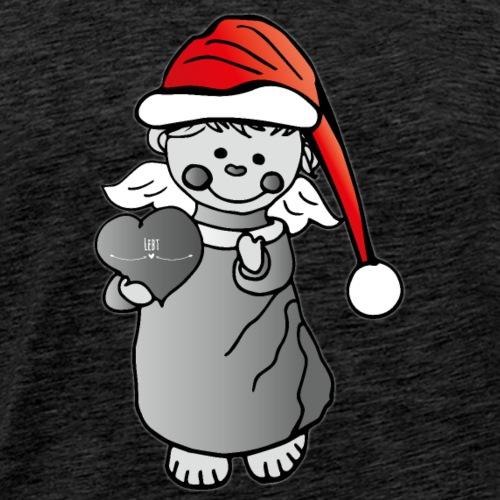 Weihnachtsengel - Männer Premium T-Shirt