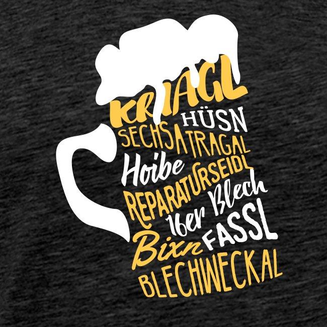 Vorschau: Bier - Männer Premium T-Shirt