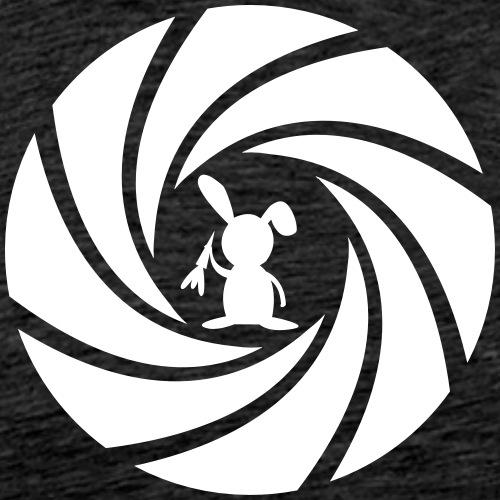 Hase Kaninchen Karotte Möhre James bunny Linse - Männer Premium T-Shirt