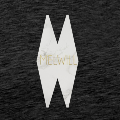 MELWILL hvid - Herre premium T-shirt