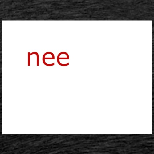 nee t-shirts - Mannen Premium T-shirt