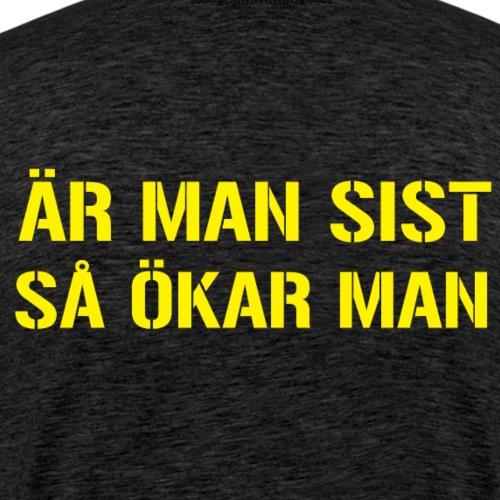 Öka! - Premium-T-shirt herr