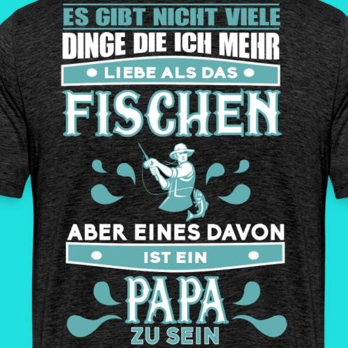 Papa-Fischer - Männer Premium T-Shirt