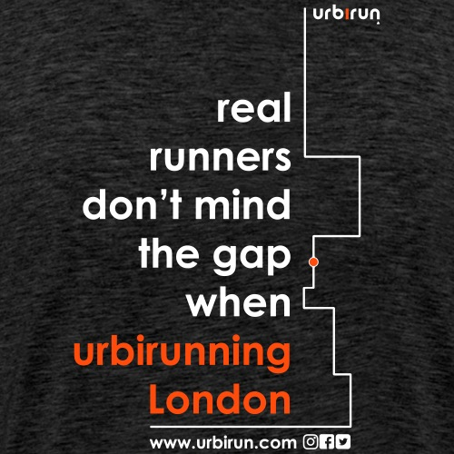 urbirun london - T-shirt Premium Homme