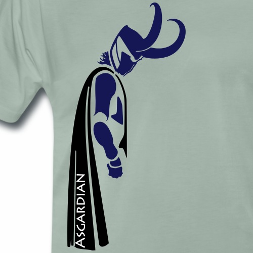 Asgardian Loki - Vektor - Männer Premium T-Shirt