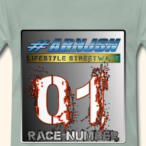 #arnjsn racenumber - Männer Premium T-Shirt
