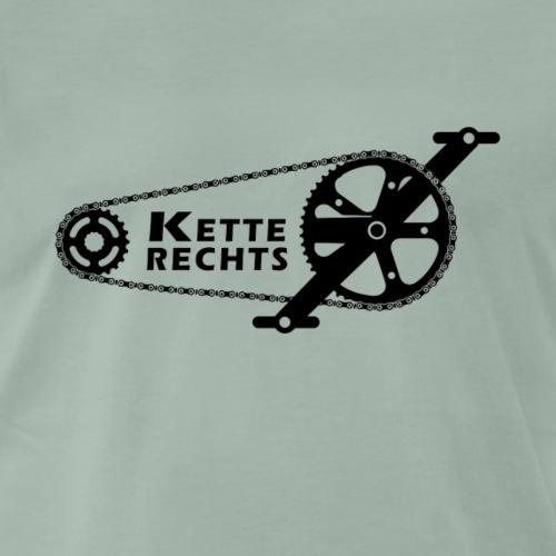Kette Rechts! Clean - Männer Premium T-Shirt