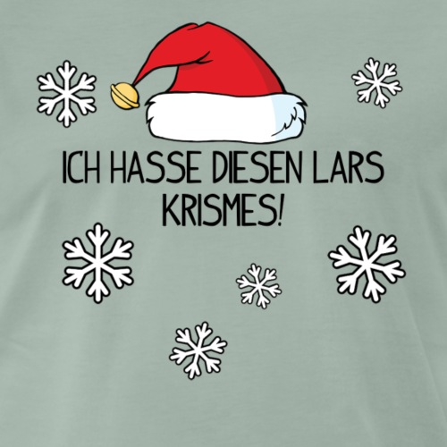 Lars krismes! - Männer Premium T-Shirt
