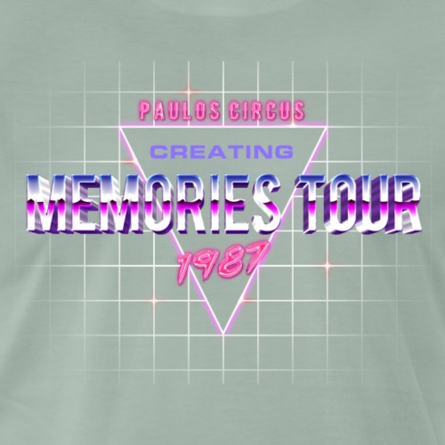 Creating Memories Tour - Vintage - Men's Premium T-Shirt