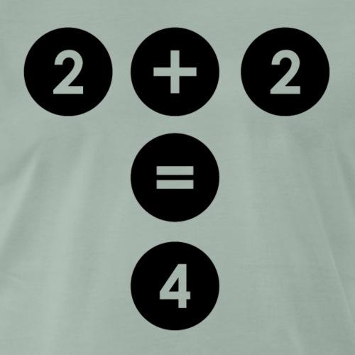 2+2 - Männer Premium T-Shirt