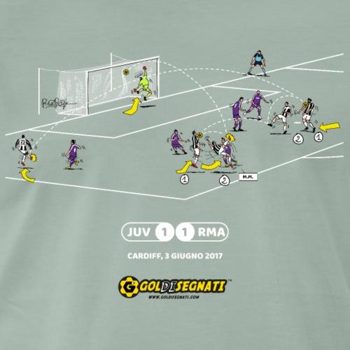 JUV-RMA 1-1 Gol di MM - Maglietta Premium da uomo