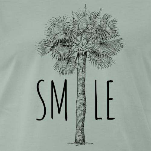 SMILE PALME - Männer Premium T-Shirt