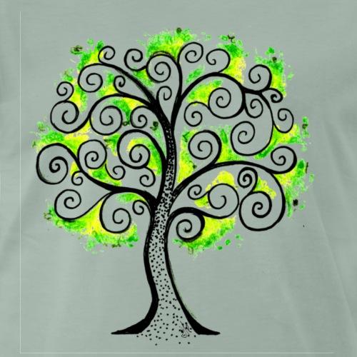 albero della vita - Maglietta Premium da uomo