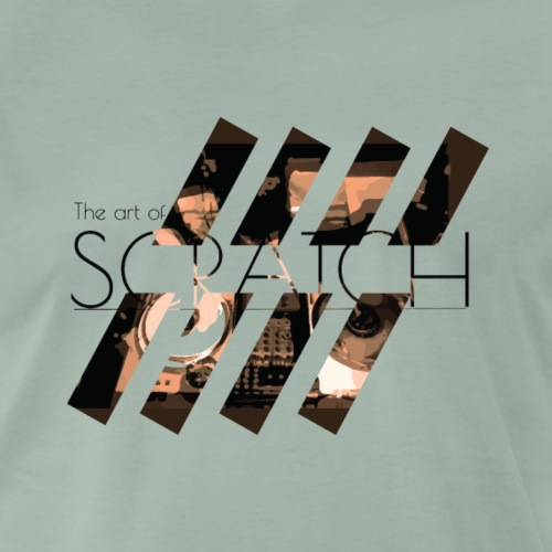 The art of Scratch - T-shirt Premium Homme