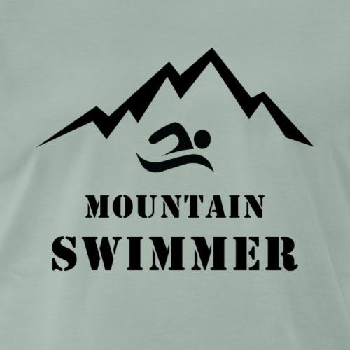 MOUNTAIN SWIMMER - T-shirt Premium Homme