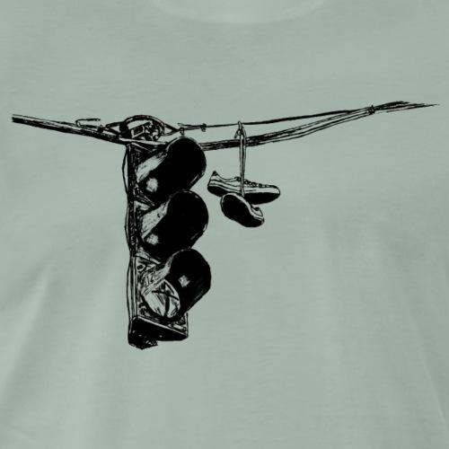 Ampel und Turnschuhe - Männer Premium T-Shirt