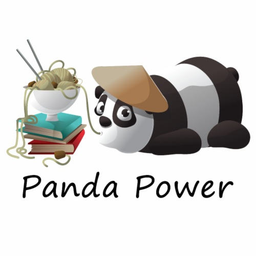 Panda Power - Männer Premium T-Shirt
