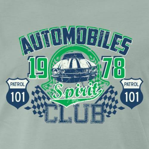 AUTO CLUB - 1978 Rennwagen Sportwagen Geschenk - Männer Premium T-Shirt