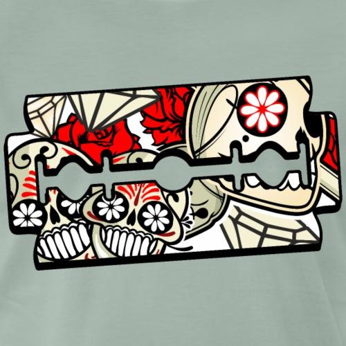 HOJILLA SKULL - Camiseta premium hombre